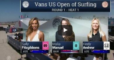 Vans US Open of Surfing 2016: Melhores momentos 1º Round- Heat 1