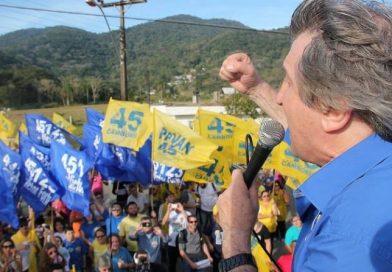 Caminhada da coligação 'Balneário Camboriú merece mais ' agita a comunidade do São Judas e da Barra