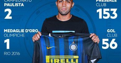 Inter de Milão anuncia a contratação de Gabigol