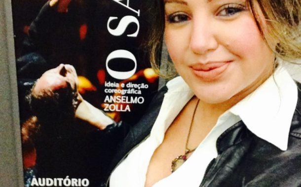 Cris Lopes marca presença no espetáculo de dança O Sarau no MASP